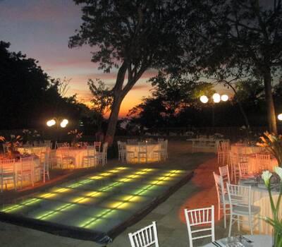 Area para el banquete Las Brisas Ixtapa