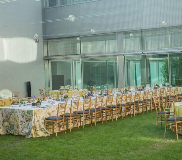 Banquete Jardín de los Estudiantes