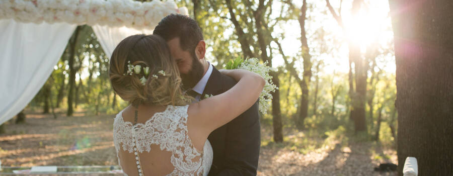 Stylish forest wedding In Puglia