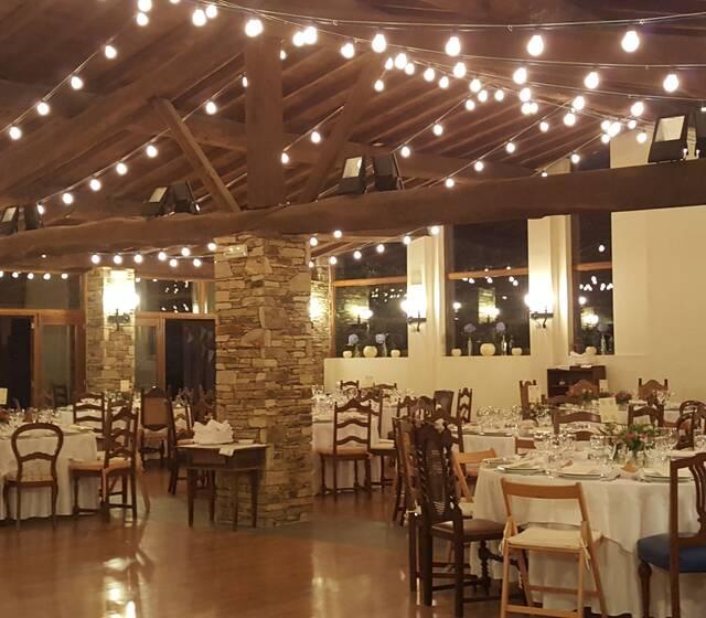 Nuestro salón con iluminación personalizada