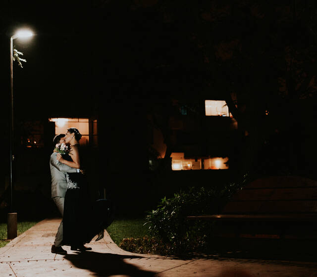 Paseo de recién casados