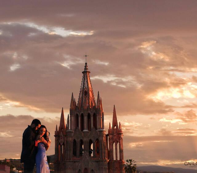 Sunset San Miguel de Allende