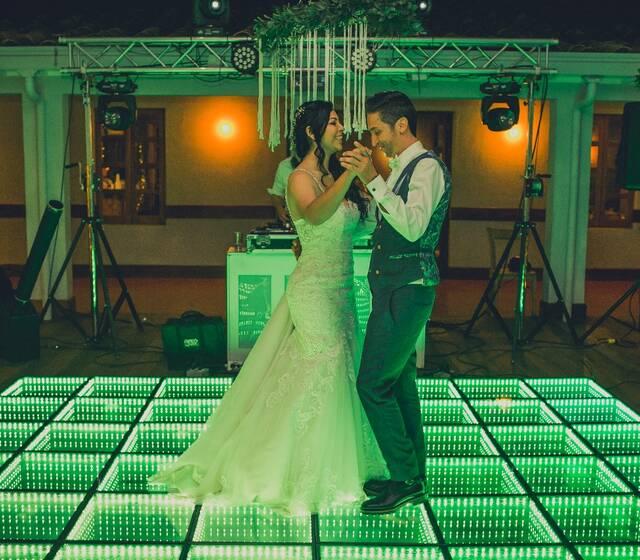 boda, pista de led, maxitk, pista de baile led