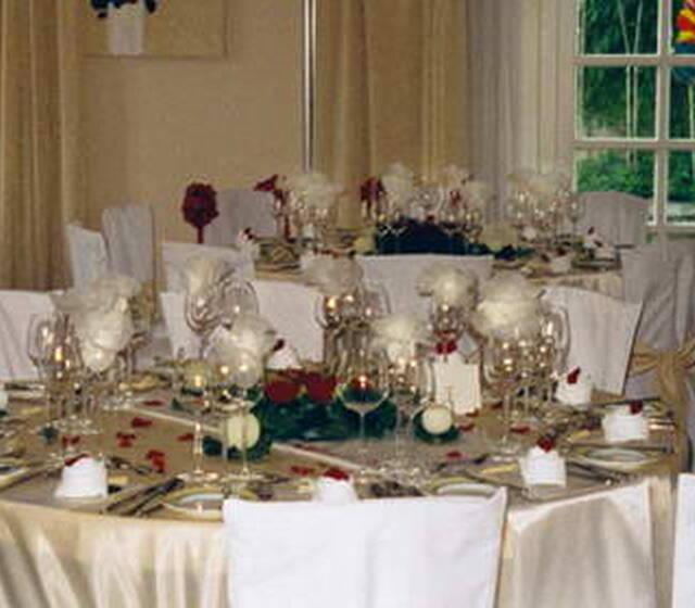Hochzeitstische Foto: Agentur Dekor Style