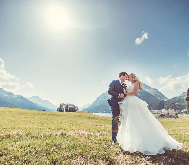 Beispiel: Hochzeitspaar, Foto: Ronny Barthels.