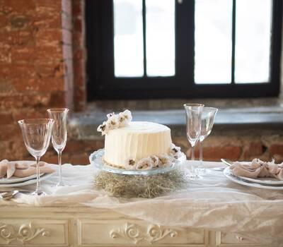 Свадебное торжество для самых близких.