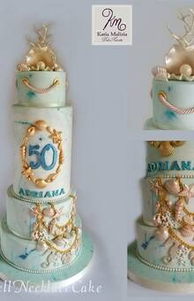 Shell Necklace Cake