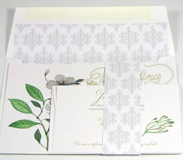 Tranquil Romance Wedding Invitation Suite