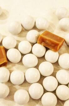 Les perles de caramel