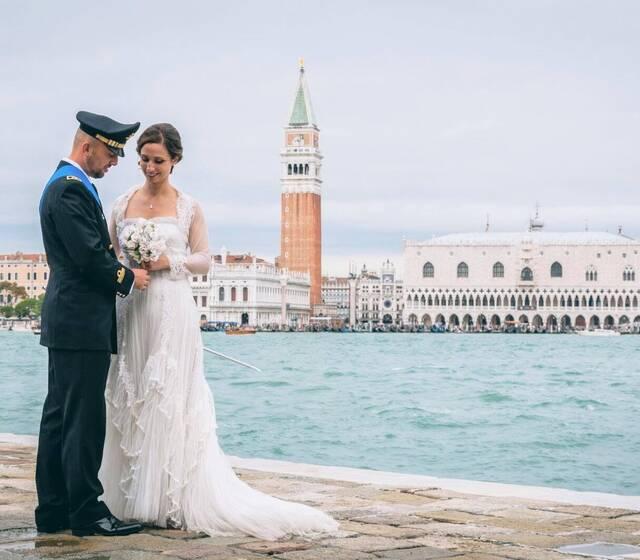 Venice Wedding Day