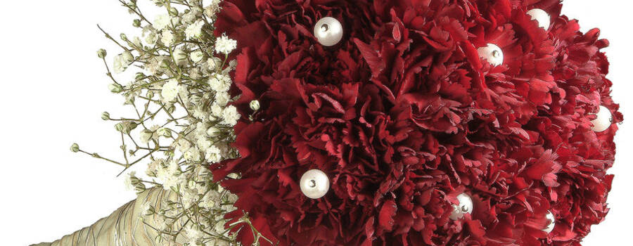 Beispiel: Brautstrauss, Foto: Blumen Zoellner.