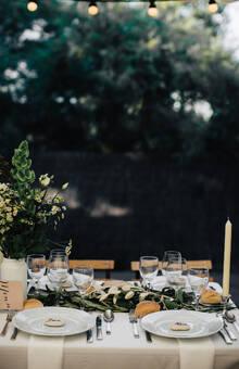 Mariage élégant et végétal - Greenery wedding - Ile de Ré - ©MG Events - Mariage Ile de Ré