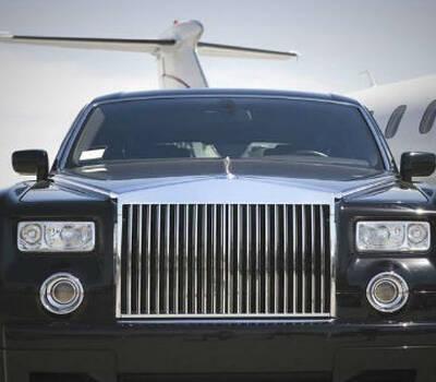 Beispiel: Hochzeitsauto Rolls Royce, Foto: Edeltour.