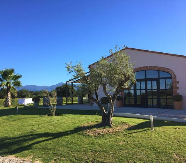 Salle de réception Clos Saint Georges