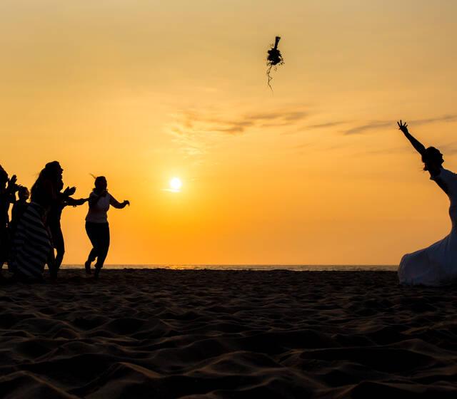 Bruiloft op het strand - Kijkduin