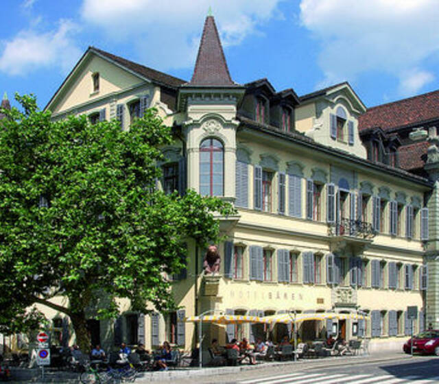 Beispiel: Das Hotel, Foto: Hotel Bären Langenthal.