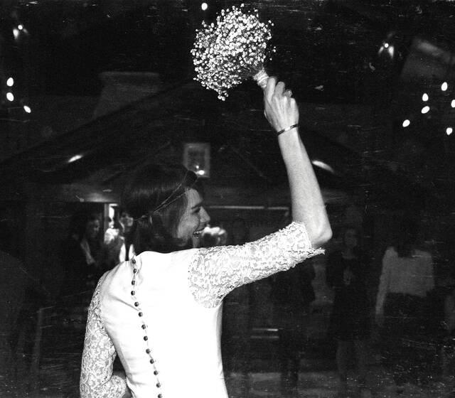 Le lancer de bouquet