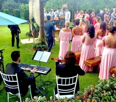 Cerimônia de Casamento - piano e violino, voz e violão