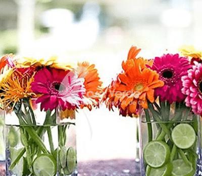 Arreglos de flores y ramos de novia para tu boda - Foto Arte en flores