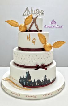 Tema Harry Potter per un matrimonio all'insegna del famoso maghetto