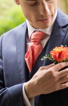 Préparation du marié