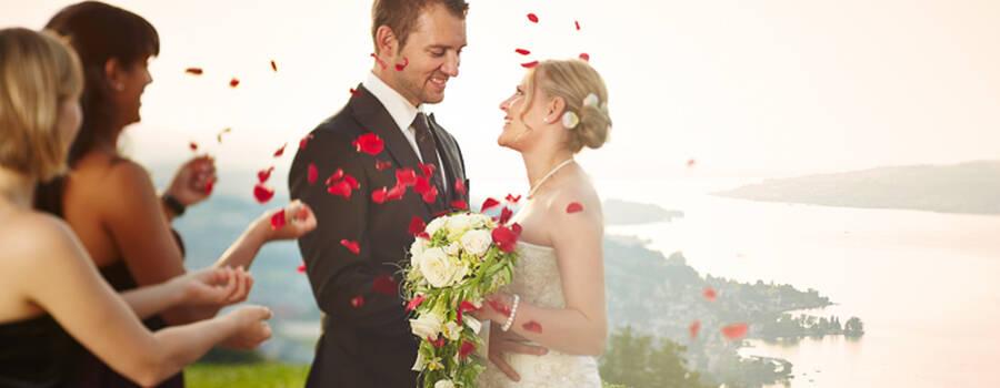Heiraten hoch über dem Zürichsee