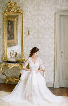 Elegant French Chateau Bridal Prep Elegant Elegant French Chateau Bridal Inspiration