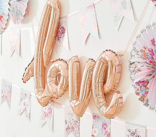 Decorer le bonheur- Lettres ballon