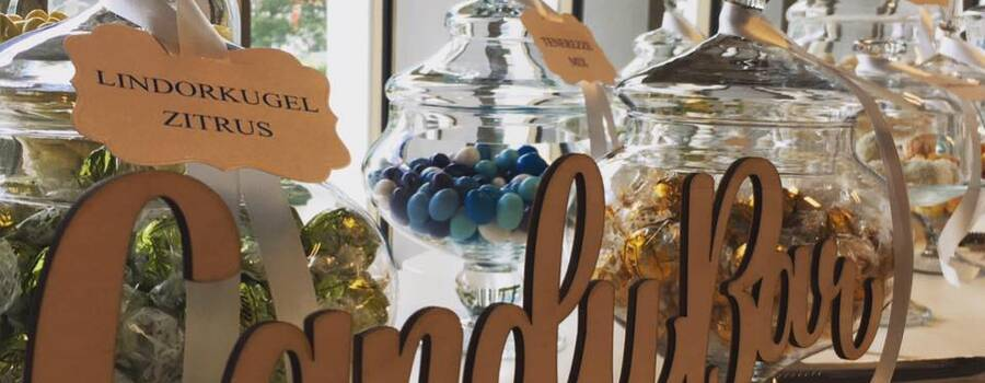 Individuelle Candybar mit Etiketten für Ihre Süssigkeiten