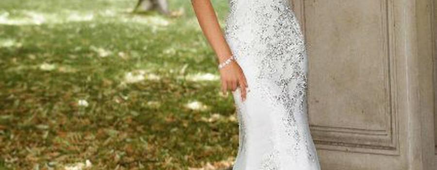 Beispiel: Brautkleid, Foto: Brautmode Ester.