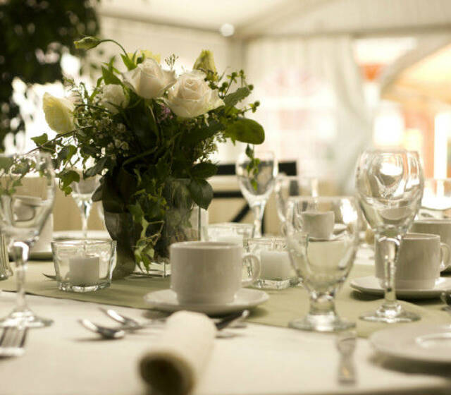 Beispiel: Wunderschöne Tischdekoration, Foto: Traumevents.