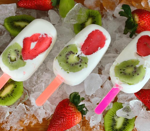 Lollies Yogurt Light Fresas Kiwi - Línea Bonito Fit