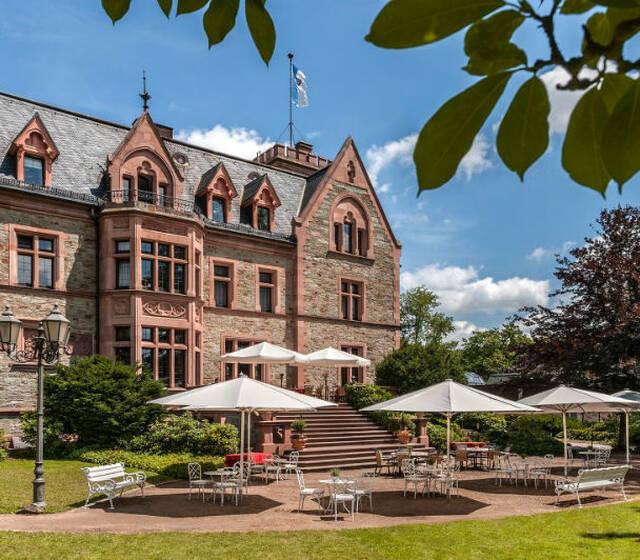 Beispiel: Vorderansicht, Foto: Schlosshotel Rettershof.