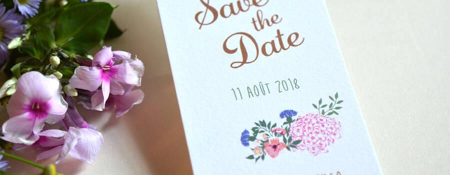 Save the Date Marque-Page L'Atelier d'Elsa Le Véritable Faire-part Sur Mesure
