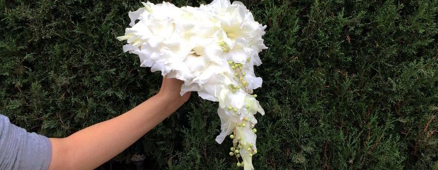 ramo de novia tipo glamelia