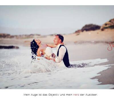 Beispiel: Afterwedding Shooting, Foto: Simone Hertel.