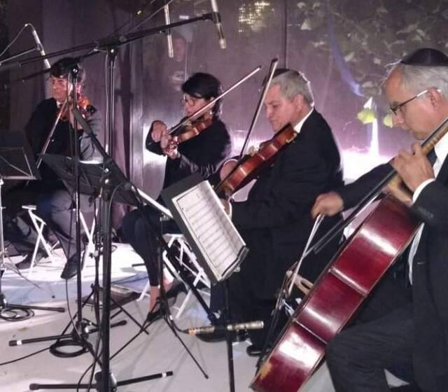 Cuarteto de Cuerdas - Ceremonia Judía Fam. Abramovitz