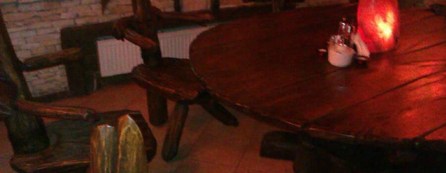 Karczma u Stacha, dekoracja stołu