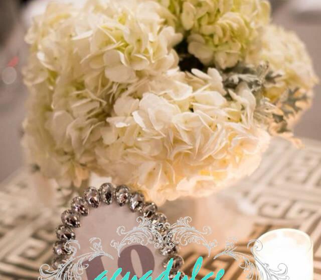 Decoración de bodas personalizados
