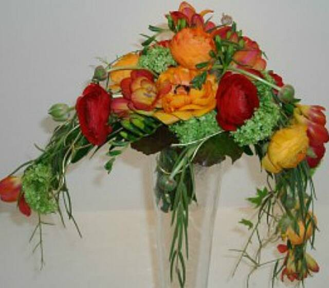 Beispiel: Brautstrauss, Foto: Durch die Blume.