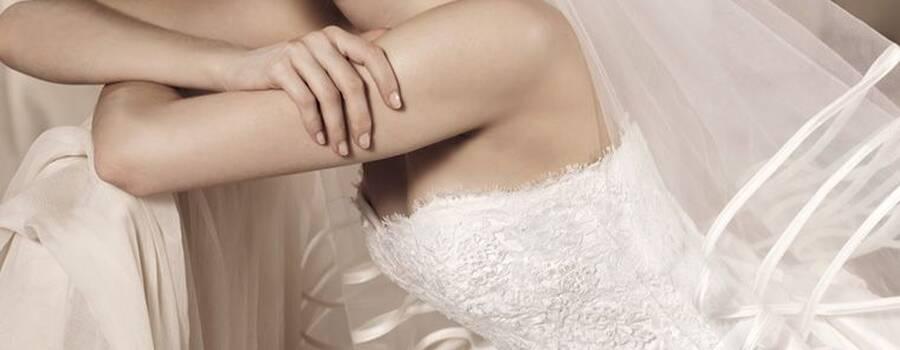 white one by pronovias