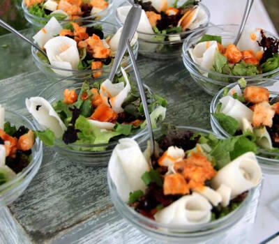 Banquetes para boda de Cocina de Inspiración Cecilia Larrea en DF