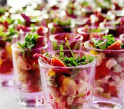 Beispiel: Verrinen, Foto: eat. fine Catering.