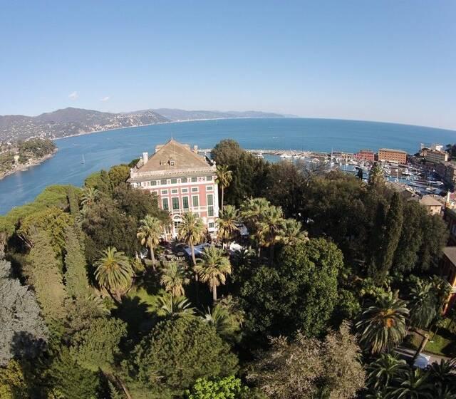 Villa Durazzo dal drone