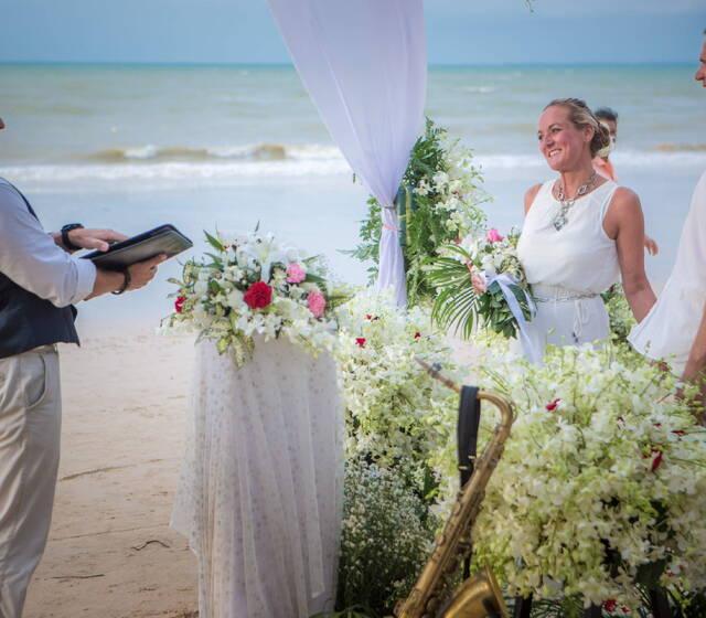 Wedding Man Gerard Baron von Sachsen in Thailand