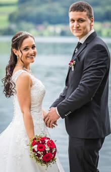 Hochzeitspaar Hallwilersee