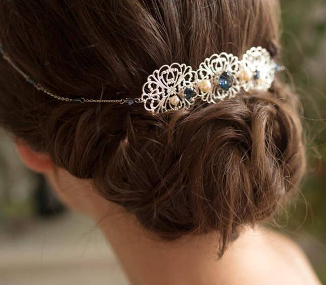 Bijoux de tête mariée
