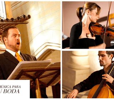 Magnificat - Músicos Solistas en tu Boda. Intérpretes seleccionados entre los más brillantes Músicos de nuestro país.
