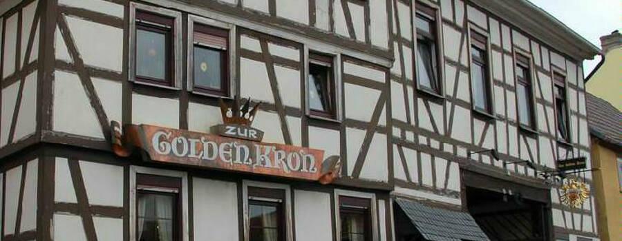 Beispiel: Außenansicht, Foto: Zur Golden Kron.
