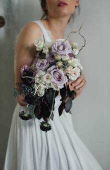 Allium By Olympia- ramo de novia tradicional foto: @mmeweddings